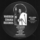 Anja G & Dr. Obi - Police Brutality / Dub / Vibronics - City On Fire / Dub (Warrior Charge) 12""